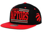 Toronto Raptors Mitchell and Ness NBA Team Block Snapback Cap Adjustable Hats