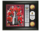 Chicago Blackhawks NHL 2015 Stanley Cup Champ Highland Mint Banner Silver Coin Photo Collectibles