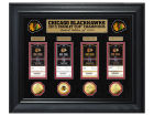 Chicago Blackhawks NHL 2015 Stanley Cup Champ Highland Mint Deluxe Silver Coin & Ticket Collection Collectibles
