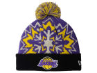 Los Angeles Lakers New Era NBA HWC Glowflake 2.0 Knit Hats