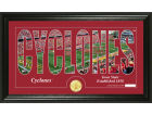 Iowa State Cyclones Highland Mint Word Art Photo Mint Picture Frames