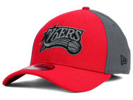New Era NBA HWC Graphite Team Color 39THIRTY Cap Stretch Fitted Hats