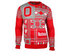 Ohio State Buckeyes Forever Collectibles NCAA Men's Patches Ugly Sweater Fleece