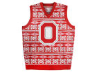 Ohio State Buckeyes Forever Collectibles NCAA Men's Ugly Sweater Vest Sweatshirts