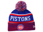 Detroit Pistons New Era NBA HWC Marled Cuff Knit Hats