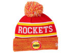 Houston Rockets New Era NBA HWC Marled Cuff Knit Hats