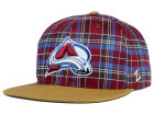 Colorado Avalanche Zephyr NHL Gaelic Snapback Hat Adjustable Hats