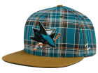 San Jose Sharks Zephyr NHL Gaelic Snapback Hat Adjustable Hats