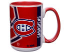 Montreal Canadiens 15oz Super Fan Inner Color Mug Kitchen & Bar