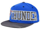 Oklahoma City Thunder adidas NBA Undertone Snapback Cap Adjustable Hats