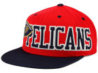 New Orleans Pelicans adidas NBA Team Jersey Mesh Snapback Cap Adjustable Hats