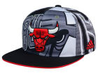 Chicago Bulls adidas NBA 2016 All Team Screen Print Snapback Cap Adjustable Hats