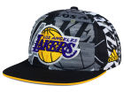 Los Angeles Lakers adidas NBA 2016 All Team Screen Print Snapback Cap Adjustable Hats