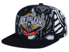 New Orleans Pelicans adidas NBA 2016 All Team Screen Print Snapback Cap Adjustable Hats