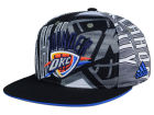 Oklahoma City Thunder adidas NBA 2016 All Team Screen Print Snapback Cap Adjustable Hats