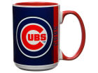 Chicago Cubs 15oz Super Fan Inner Color Mug Kitchen & Bar