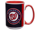 Washington Nationals 15oz Super Fan Inner Color Mug Kitchen & Bar