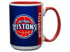 Detroit Pistons 15oz Super Fan Inner Color Mug Kitchen & Bar