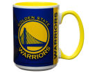 Golden State Warriors 15oz Super Fan Inner Color Mug Kitchen & Bar