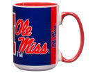 Mississippi Rebels 15oz Super Fan Inner Color Mug Kitchen & Bar