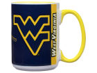 West Virginia Mountaineers 15oz Super Fan Inner Color Mug Kitchen & Bar