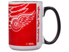 Detroit Red Wings 15oz Super Fan Inner Color Mug Kitchen & Bar