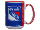 New York Rangers 15oz Super Fan Inner Color Mug Kitchen & Bar