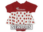 Oklahoma Sooners NCAA Newborn Polka Dot Dress Infant Apparel