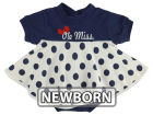 Mississippi Rebels NCAA Newborn Polka Dot Dress Infant Apparel