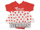 UNLV Runnin Rebels NCAA Newborn Polka Dot Dress Infant Apparel