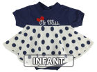 Mississippi Rebels NCAA Infant Polka Dot Dress Infant Apparel