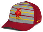 Iowa State Cyclones Nike NCAA Classic Verbiage Swoosh Cap Stretch Fitted Hats