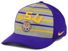 LSU Tigers Nike NCAA Classic Verbiage Swoosh Cap Stretch Fitted Hats