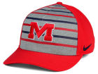 Mississippi Rebels Nike NCAA Classic Verbiage Swoosh Cap Stretch Fitted Hats
