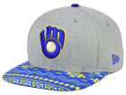 Milwaukee Brewers New Era MLB Neon Mashup 9FIFTY Snapback Cap Adjustable Hats