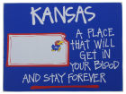 Kansas Jayhawks Map Board Collectibles