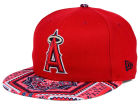 Los Angeles Angels of Anaheim New Era MLB Kaleidovize 9FIFTY Snapback Cap Adjustable Hats