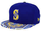 Seattle Mariners New Era MLB Kaleidovize 9FIFTY Snapback Cap Adjustable Hats