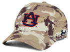 Auburn Tigers Under Armour NCAA Camo Stretch Cap Stretch Fitted Hats