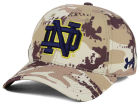 Notre Dame Fighting Irish Under Armour NCAA Camo Stretch Cap Stretch Fitted Hats