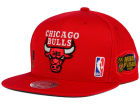 Chicago Bulls Mitchell and Ness NBA Bulls 1996 Jersey Hook Snapback Cap Adjustable Hats
