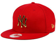 New Era MLB League O'Gold 9FIFTY Snapback Cap Adjustable Hats
