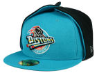 Detroit Pistons New Era NBA HWC Team Dog Ear 59FIFTY Cap Fitted Hats