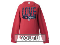 5th & Ocean MLB Girls Sequin Raglan Pull Over Sweatshirts