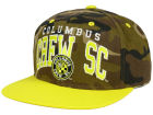 Columbus Crew SC adidas MLS Camo Team Color Snapback Cap Adjustable Hats