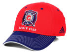 Chicago Fire adidas MLS 2 Tone Team Flex Cap Stretch Fitted Hats
