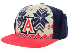 Arizona Wildcats Top of the World NCAA Ugly Sweater Strapback Cap Adjustable Hats