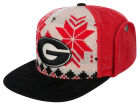 Georgia Bulldogs Top of the World NCAA Ugly Sweater Strapback Cap Adjustable Hats