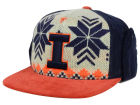 Illinois Fighting Illini Top of the World NCAA Ugly Sweater Strapback Cap Adjustable Hats