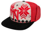 Nebraska Cornhuskers Top of the World NCAA Ugly Sweater Strapback Cap Adjustable Hats
